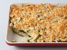 Zucchini Gratin Recipe : Ina Garten : Food Network - FoodNetwork.com
