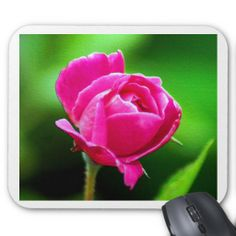 Rosy Pink Mouse Pad