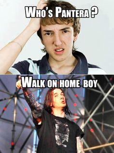 Who's Pantera? Walk On Home Boy!! - CovalentNews.com