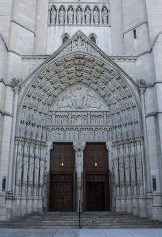 The Riverside Church, New York, New York www.stephentravels.com/top5/entryways