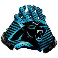 Nike Carolina Panthers Vapor Jet 2.0 Team Authentic Series Gloves Der  Panther 2be0cd7b8