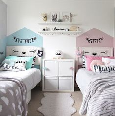22 Beautiful Shared Room For Kids Ideas rooms decor room design room ideas for girls kids room ideas rooms kids rooms Boy And Girl Shared Room, Boy Girl Bedroom, Girl Room, Twin Girl Bedrooms, Cool Kids Bedrooms, Shared Bedrooms, Shared Bedroom Kids, Kids Bedroom Ideas, Bedroom For Twins