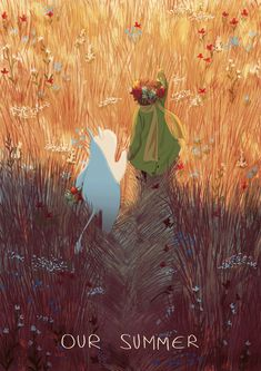 It was a beautiful spring. - Or just avril or gaël Art And Illustration, Illustrations, Moomin Wallpaper, Moomin Valley, Abstract Pictures, Cute Art, Art Inspo, Art Reference, Amazing Art