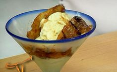 GRILLED BANANAS FOSTER // Longhorn Steakhouse Copycat Recipes
