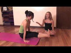 Ashtanga Yoga : Core Strength to Jump through with Straight Legs, with Kino MacGregor - YouTube