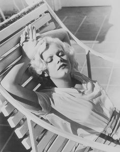 Jean Harlow photographed by Virgil Apger