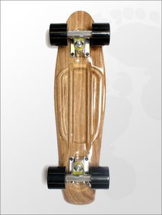 New In: Edge Series Prints Cruiser Retro Skateboard 22inch Wood Light Effect | twobarefeet.co.uk