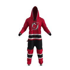 New Jersey Devils NHL Onesie - Hockey Sockey
