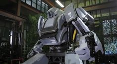 A Gundam-style giant robot has come to life in Japan, promising joyrides aplenty in this 13-foot humanoid machine on wheels. http://cnet.co/LYTqF8