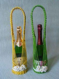 Подставка под шампанское мастер класс -  Kuente.ru