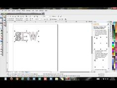 BERNINA Embroidery Software 6 - Tool Tip - Insert Symbol Character - YouTube