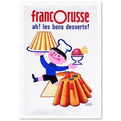 エルベ・モルバンポスター/リトグラフポスター/francorusse