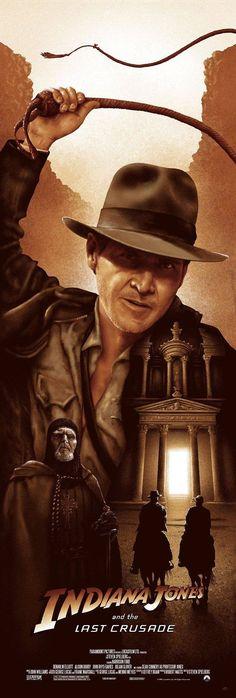 Indiana Jones and the Last Crusade (1989) [700 x 2072]