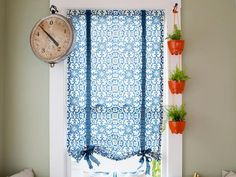 DIY roll up curtains >> http://www.diynetwork.com/decorating/how-to-make-easy-roman-shades/pictures/index.html?soc=pinterest