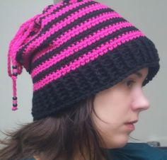 convertible hat cowl free crochet pattern ponytail hat with drawstring