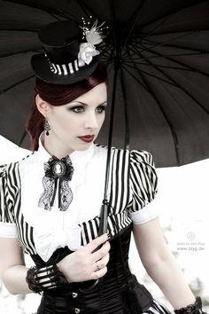 arsenicinshell: victorian fashion and i love Ninette !! Alex-Blyg