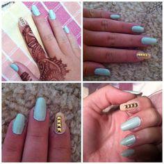 Simple | elegant | nail art | nails | DIY