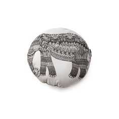 Elephant Pillow ($32) ❤ liked on Polyvore featuring home, home decor, throw pillows, grey home decor, grey accent pillows, gray accent pillows, elephant throw pillow and elephant home accessories