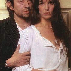 Serge Gainsbourg e Jane Birkin Serge Gainsbourg, Gainsbourg Birkin, Charlotte Gainsbourg, Jane Birkin Now, Jane Birkin Style, Jane Birken, Baby Jane, Lou Doillon, Provocateur