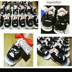 Jordan 3 shoe favors www.sweetlilsoles.blogspot.com sweetlilsoles@yahoo.com