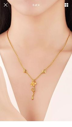 Gold Chain Design, Gold Jewellery Design, Gold Jewelry Simple, Stylish Jewelry, Gold Mangalsutra, Gold Set, Gold Fashion, Gold Bangles, Necklace Designs