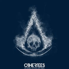 """Assassin's Smoke"" by donnie Shirt on sale until 26 June on othertees.com Pin it for a chance at a FREE TEE! #assassinscreed #games #xbox #ps3 #ps4"