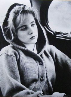 Sue Lyon candid on the set of Lolita