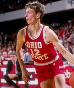 one of my all-time favorite Ohio State Buckeyes. Buckeye Basketball, Ohio State Basketball, College Basketball, Basketball Court, Football, Ohio State University, Ohio State Buckeyes, Ohio Stadium, One Team