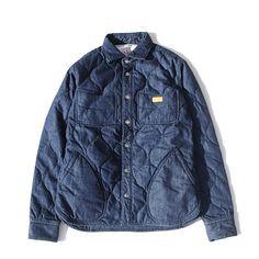 アパレルブランド「natal design」のオフィシャルオンラインショップ。 Denim Party, Blue Denim Shirt, Denim Fashion, Work Wear, Winter Outfits, Raincoat, Design Shop, Winter Jackets, My Style