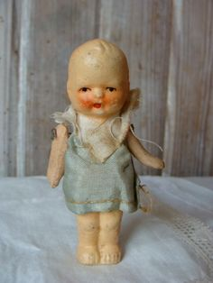 Antique Jointed Doll by reginasstudio on Etsy