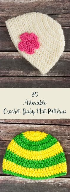 20 Adorable (and Free) Crochet Baby Hat Patterns