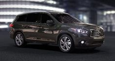 Infiniti JX  One of my top new car picks! Would pick a different color