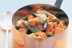 Thai Red Pork Curry - just substitute the white rice for a healthier option