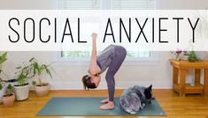 This impactful and gentle 20 minute session was designed in response to a huge request for Yoga For Social Anxiety. Use this at home yoga practice as needed to hit the reset button and/or re-fill [. Anxiety Help, Social Anxiety, Controlling Anxiety, Health Anxiety, Anxiety Tips, Yoga Nature, Free Yoga Videos, Home Yoga Practice, Amigurumi