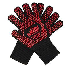 Heat Resistant Gloves for the Grill Oven Fireplace and More! Provide perfect expirence for Cooking Grilling Baking Oven Mitts Pot Holders. Protecting your hands from those intense temperature...