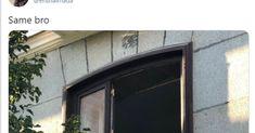 Triunfa con la pancarta que vio en un balcón del centro de Madrid: representa a todos Garage Doors, Outdoor Decor, Home Decor, Balconies, Windows, Decks, Decoration Home, Room Decor, Home Interior Design