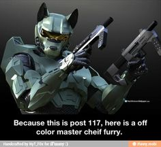 Furry halo master cheif