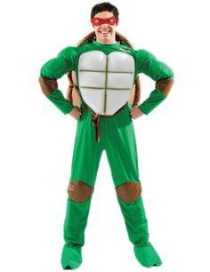 Teenage Mutant Ninja Turtles Kostüm Lizenzware grün-weiss-braun, aus der Kategorie Film- & Promikostüme. Die Teenage Mutant Ninja Turtles sind beliebt bei Jung und Alt. Bereits seit den 80er Jahren kämpfen die mutierten Schildkröten gegen den bösen Shredder und seinen Foot Clan. Ein famoses Kostüm für Karneval und Mottopartys.