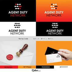 Agent Duty Network logo designed by Cyberbrush