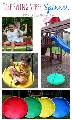 Tire Swing Super Spinner, Outdoor games for kids, back yard ideas for kids, amazon sale and free shipping
