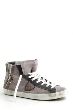 Philippe Model-sneaker bike alta-grigio fango-sneaker bike high grey mud d35111c6391