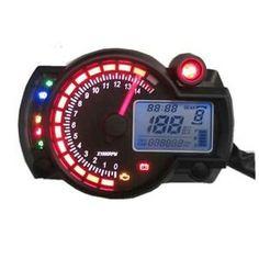 My new Speedometer/Tachometer for my bike.