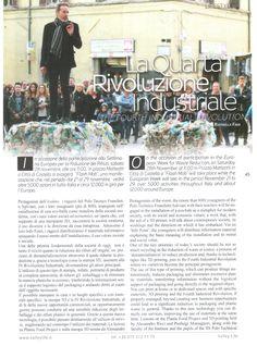 IV Industrial Revolution - IV Rivoluzione Industriale – SERR/EWWR 2015 - The European Week for Waste Reduction - La Settimana Europea per la Riduzione dei Rifiuti.  Grazie a Valley Life che da sempre sostiene Plastic Food Project.
