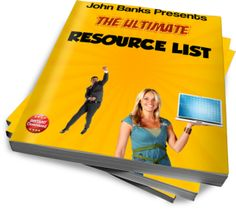 Ultimate Resource List - Free eBooks, Free Software, Free PLR + Tons More!
