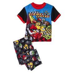 Angry Birds Boys' 2-Piece Short-Sleeve Pajama Set