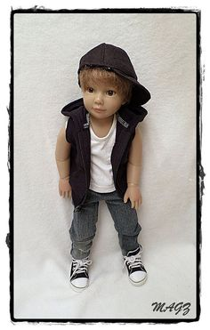 slim 18 inch doll outfit for kidz n cats dolls by MagzRockingStyle