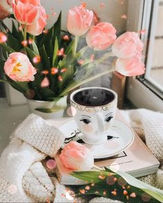 Good Morning Coffee Gif, Good Morning Wishes, Coffee Time, Love Wallpapers Romantic, Beautiful Flowers Wallpapers, Good Morning Beautiful Flowers, Beautiful Gif, Good Day Messages, Very Good Morning Images