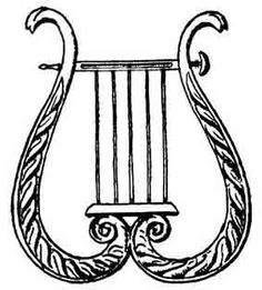Lyre- It's on the Rose crest AND is the symbol of the muse of dance, Terpsichore