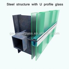 sell channel glass /U glass/U profile glass, View channel glass, GAOMING Product Details from Zhejiang Gaoming Glass Co., Ltd. on Alibaba.com