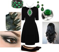 """Elphaba Casual Cosplay"" by dalmatiandani on Polyvore"